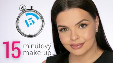 15 minútový make-up na každý den | Make-up Tutorial