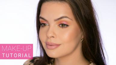 Trendové líčení s Nabla Cutie Coral Palette | Make-up Tutorial