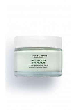 Revolution Skincare Green Tea & Walnut Exfoliating Face Mask