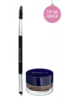 Combo Wunder2 Dual Brush + Nabla Brow Pot