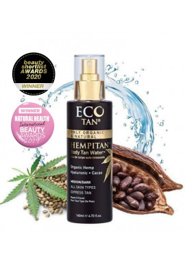 Eco by Sonya Body Tan Water Hempitan 125ml