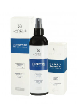 Larens Combo Biopeptide Serum Spray + Hydrobalance Face Cream