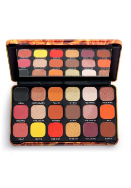 Makeup Revolution Eyeshadow Palette Forever Flawless Fire
