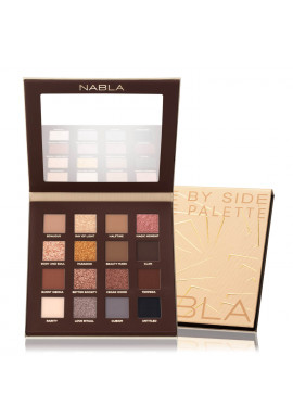 NABLA Eyeshadow Nude Palette Side By Side