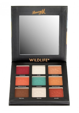BarryM Eyeshadow Palette Wildlife Tiger
