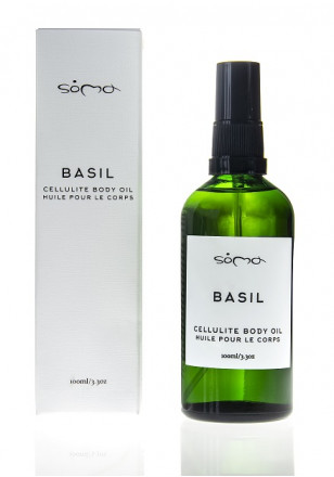 Soma Botanicals Body Oil Basil Cellulite 100ml