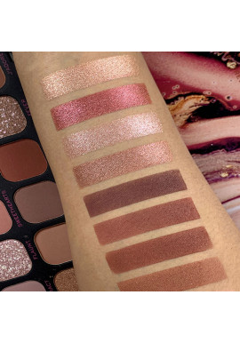 Makeup Revolution Eyeshadow Palette Forever Flawless Allure swatches