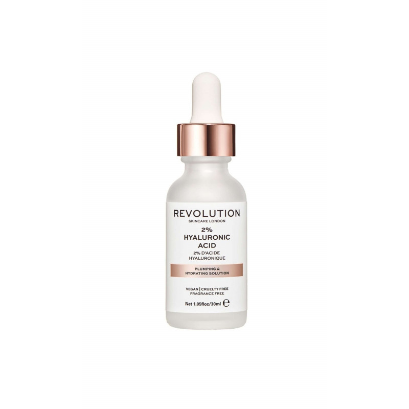 Revolution Skincare Serum - Plumping & Hydrating Serum– 2% Hyaluronic Acid