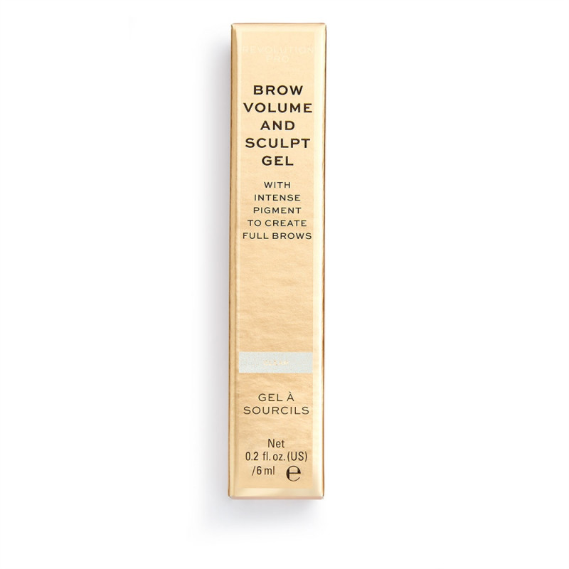 Revolution Pro Brow Volume and Sculpt Gel 6ml-CLEAR