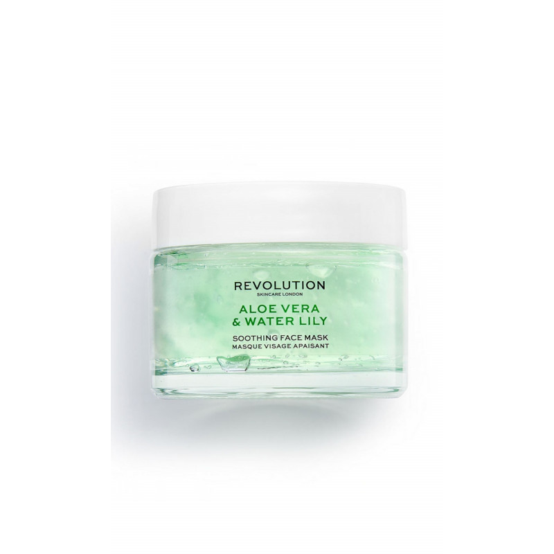 Revolution Skincare Face Mask - Aloe Vera & Water Lily Soothing Face Mask
