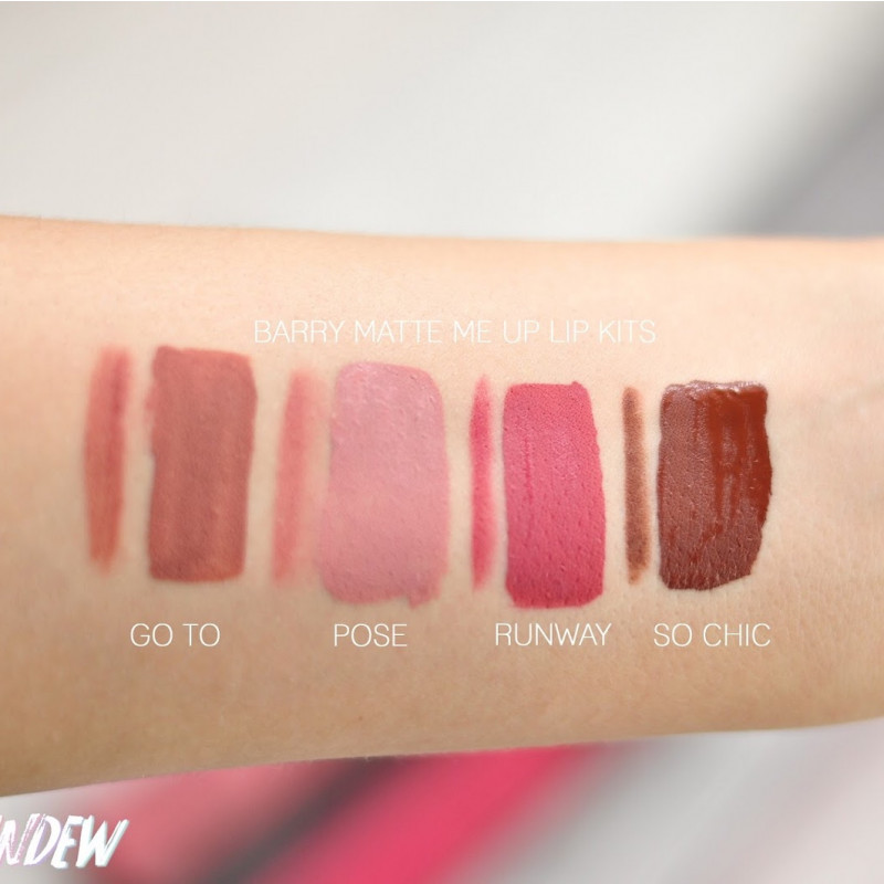 BarryM Lip Kit Matte Me Up Go To