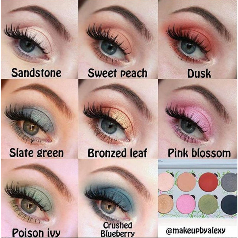 MakeupAddiction Meadow Palette by @makeupbyalexy