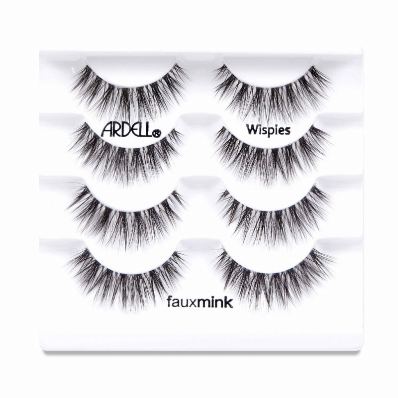 Ardell Faux Mink Wispies 4-pack (67409)