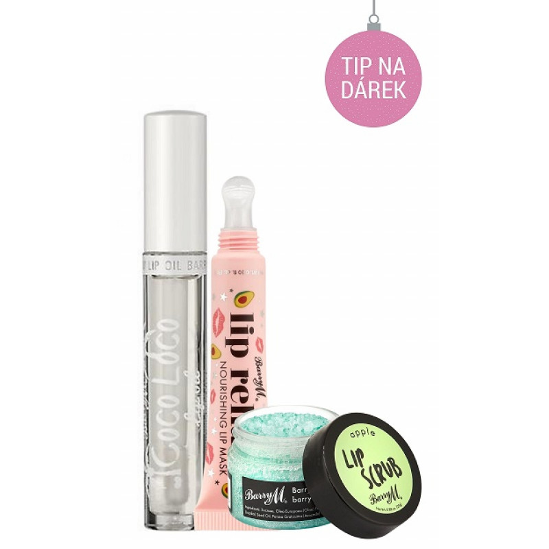 BarryM Lip Scrub + Lip Oil + Lip Mask