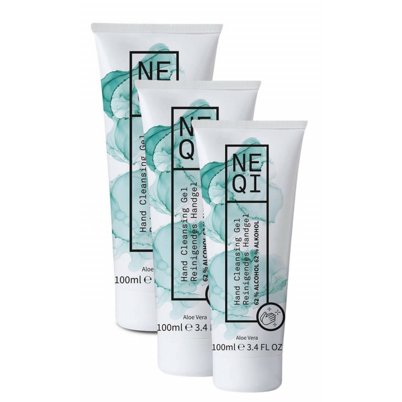 NEQI Hand Cleansing Gel Trio 3x100ml