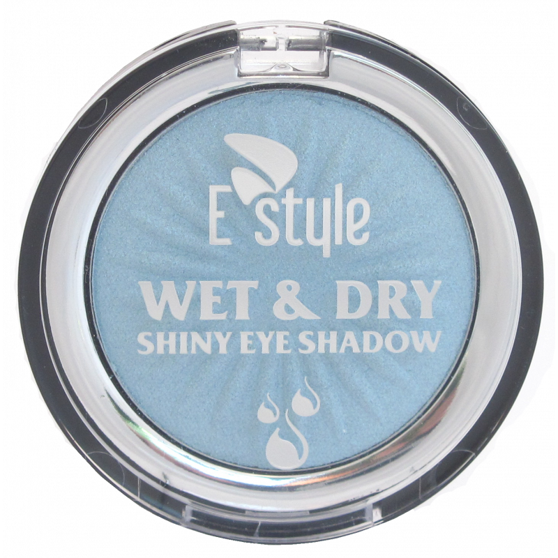 E Style WET & DRY EYE SHADOW MONO-07 ICE BLUE