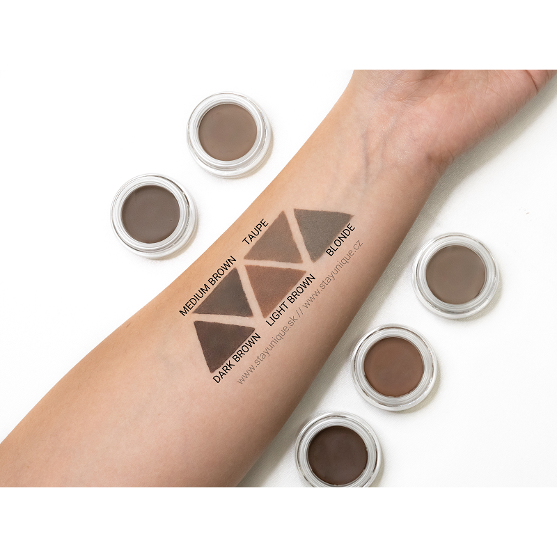 Makeup Obsession Brow Pomade swatches Stayunqiue.sk