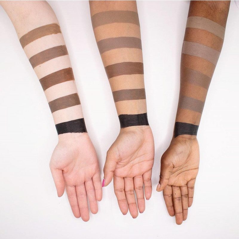 Wunder2 Wunderbrow Eyebrow Gel swatches 3g